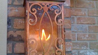 Sheryl's Bellaire Gas Lantern