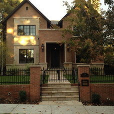 Traditional Exterior by Sheryl Stringer