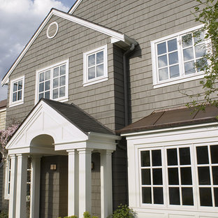 Inspiration for a timeless exterior home remodel in Seattle