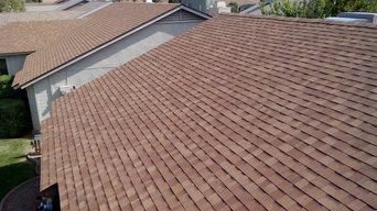 Shingle roof replacement in Scottsdale, AZ