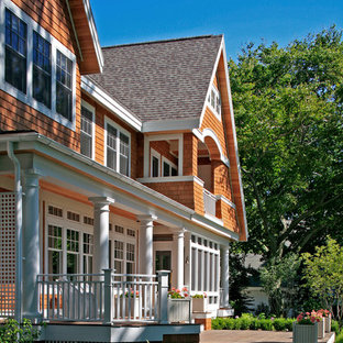 Inspiration for a timeless exterior home remodel in Grand Rapids