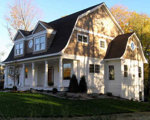Craftsman Dormer Gambrel Roof Home Design Ideas Pictures Remodel And Decor