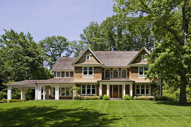 Porte cocheres steer driveway style in the right direction for Cottage house plans with porte cochere