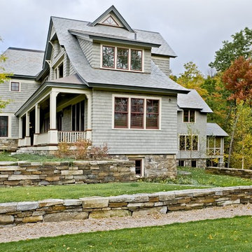 Shingle style home in Hanover NH
