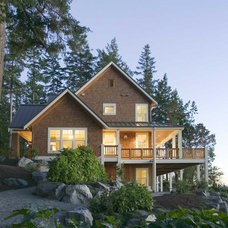 Traditional Exterior by Pelletier + Schaar