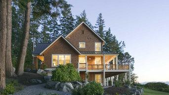 Shingle-style home