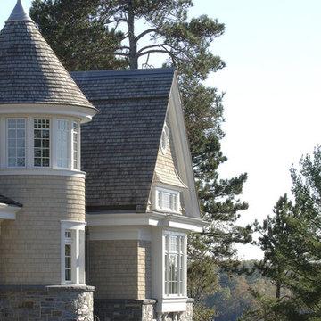 Shingle-Style Lake Home