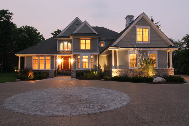 Traditional Exterior by TLC Renovations