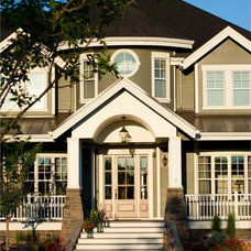 Traditional Exterior by The Plan Collection