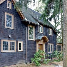 Traditional Exterior by ZeroEnergy Design