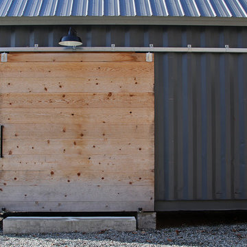 Shipping Container Carport