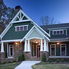 Craftsman Exterior by Peek Design Group