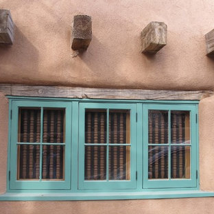 Shop made windows to replace original windows that had rotted
