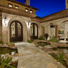 Traditional Exterior by Cornerstone Architects