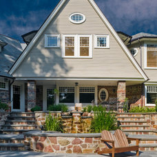 Traditional Exterior by Vanco Construction Inc.