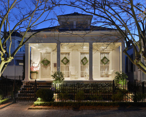 Shotgun house houzz for New orleans style house plans