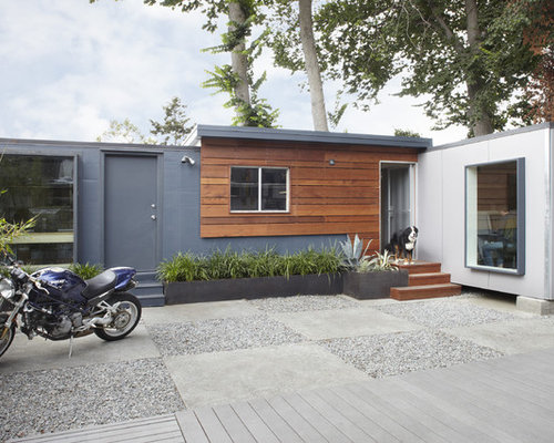 Container Home Siding : Shipping container homes home design ideas pictures