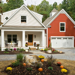 eclectic exterior by Witt Construction