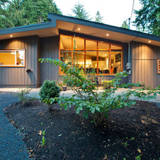 Midcentury Exterior by My House Design Build Team