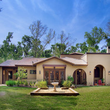 Southwestern Exterior by Gritton & Associates Architects