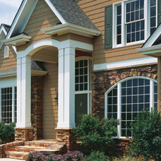 Traditional Exterior by ClearView Window and Door Company