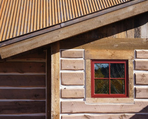log slab siding home design ideas pictures remodel and decor
