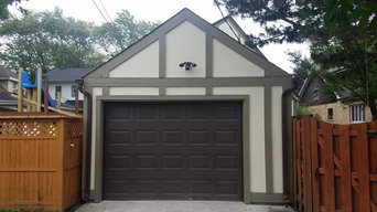 Siding Garage Installation