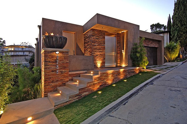 Contemporary Exterior by Palumbo Design
