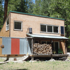 Eclectic Exterior by David Wright solar environmental architect