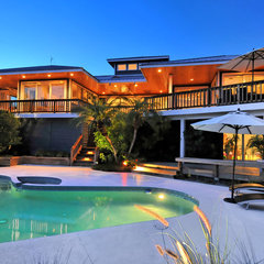 tropical exterior by Onyx Development Group