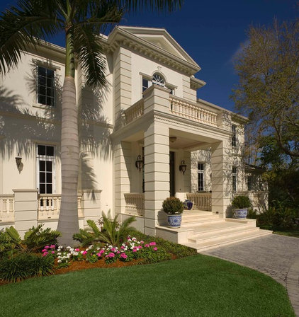 Traditional Exterior by Perrone Construction