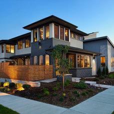 Contemporary Exterior by Brookfield Residential Colorado