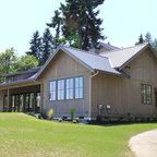 Modern Farm House Elmhurst Il Farmhouse Exterior