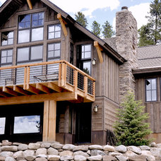 Rustic Exterior by Trilogy Partners