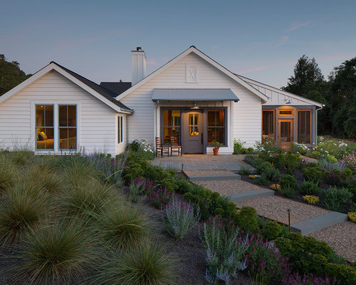 Farmhouse e Story Exterior Design Ideas Remodels & s