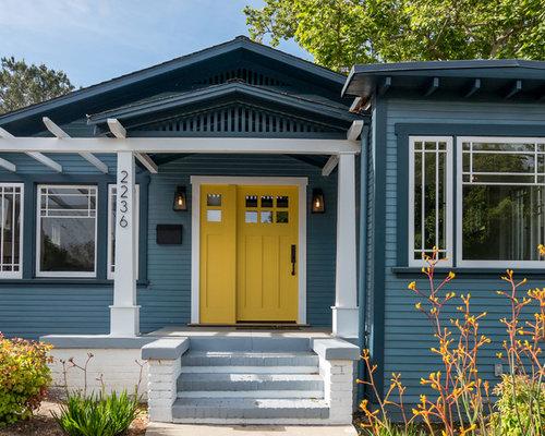 Blaue Häuser blaue häuser ideen design bilder houzz