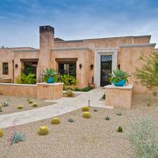 Southwestern Exterior by Sonora West Development