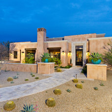 Mediterranean Exterior by Sonora West Development