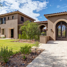 Traditional Exterior by Sonora West Development