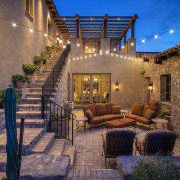 Silverleaf Residence - Cocktail Courtyard