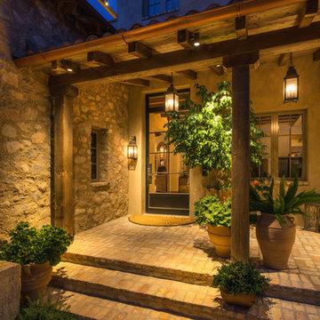 Silverleaf Residence - Front Door