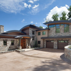 Transitional Exterior by Hufker Photo
