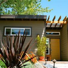 Contemporary Exterior by Studio3 Design, Inc.