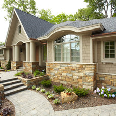 Transitional Exterior by Habitat Architecture