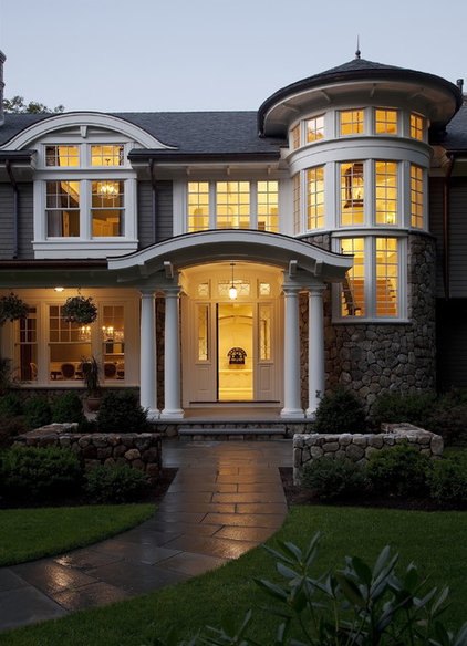 Traditional Exterior by Marcus Gleysteen Architects