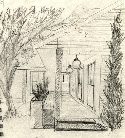 Contemporary Exterior Sketches for Lindsey's Exterior