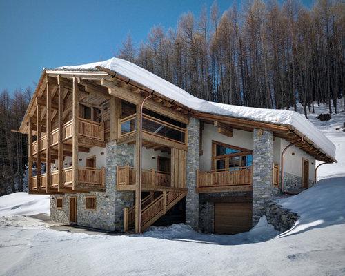 foto e idee per facciate di case facciata di una casa in