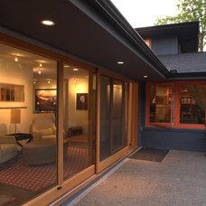 Contemporary Exterior by Choice Wood Company