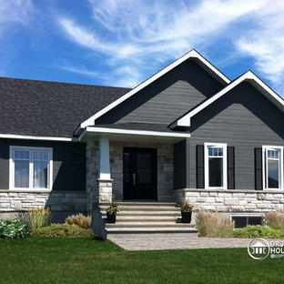 Small & affordable Country Rustic home photos - Drummond House Plans (3133-V1)
