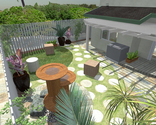 Small Backyard Makeovers Home Design Ideas Pictures